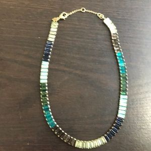 Northern Lights necklace from Banana Republic.
